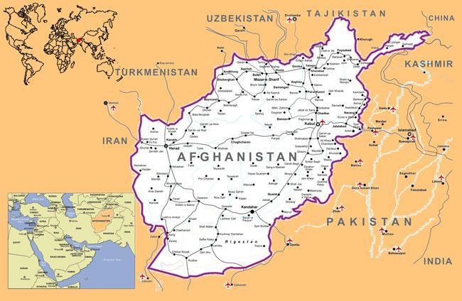 T6pse Afghanistan 2011 Map: Map Of Afghanistan At Slyspyder.com
